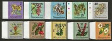 British Guiana | Guyana 1975 Revenue Flowers Set VF-NH