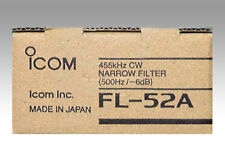 Icom Fl-52a estrecha CW 455khz. ancho de banda 500hz.
