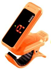 Tuner KORG PC-1 Pitchclip Low-Profile Clip-on Guitar Chromatic Instrument Orange