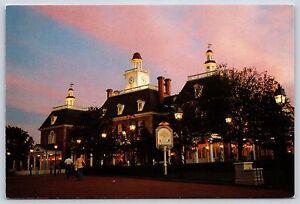 American Adventure at EPCOT Center Walt Disney World Continental Postcard Unused