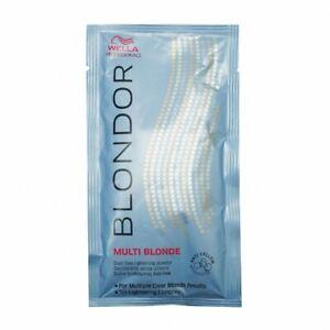 Wella Blondor Multi Blonde Dust Free Powder Bleach Sachet 30g **NEW**