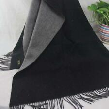 Vintage Women Man Solid Long Cashmere Wool Blend Soft Warm Wrap Shawl Scarf 705