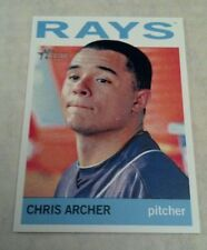 CHRIS ARCHER 2013 TOPPS HERITAGE CARD # 411 A1445