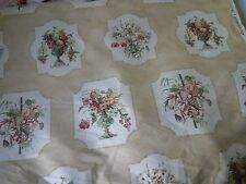 "Schumacher ""Coquilles et Fleurs"" French , Fabric $300 Draperie/Upholstery weight"