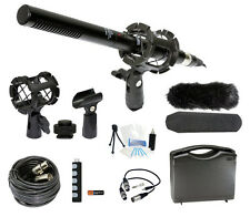 Microphone Broadcasting Camcorder Kit Canon Vixia HF R30 R32 R300 M40 M42 M400