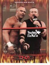 VOODOO KIN MAFIA TNA ORIGINAL PROMO UNSIGNED VERY RARE