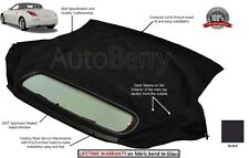 Fits: Nissan 350Z 2003-09 Convertible Soft Top Replacemet & Window Black Twill