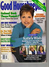 KATIE COURIC Good Housekeeping Magazine 10/98 INTERVIEW