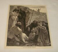 1880 magazine engraving ~ JOSEPH THE DREAMER