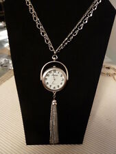 """CHICO'S 27"""" """" JOANNE""""  WATCH NECKLACE NWT"""