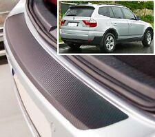 BMW X3 E83 - CARBONE STYLE Pare-chocs arrière protection