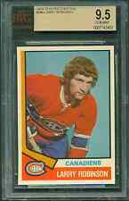 1974 75 OPC NHL #280 LARRY ROBINSON BVG 9.5 GEM MINT