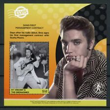 St Vincent & Grenadines 2017 MNH Elvis Presley His Life in Stamps 1v S/S I