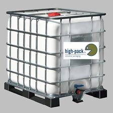 043 Wassertank IBC Container Fass Regentonne Wasserfass Regenwassertank Tank