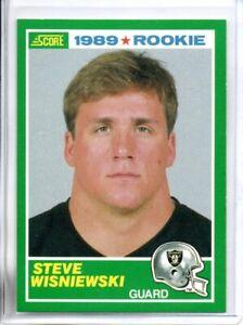 1989 SCORE STEVE WISNIEWSKI ROOKIE (NM/MT OR BETTER) <<