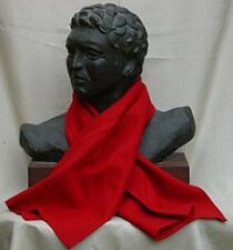 Roman legionary red scarf wool linen any size focale to prevent chaffing warmth