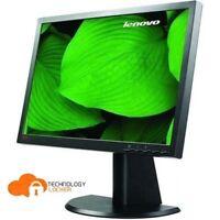 "LENOVO ThinkVision L2240PwD 22"" Flat Panel LCD Monitor VGA DVI No Stand"