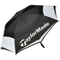 """NEW 2018"" TAYLORMADE 64"" TOUR LOGO WindPro® DUAL CANOPY / VENTED GOLF UMBRELLA"