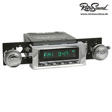 AMC Rebel 1967-70; Autoradio Radio para Oldtimer, RetroSound ZUMA, USB, MP3