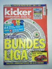 Kicker Sonderheft zur Bundesliga-Saison 2016/2017 mit Kulttabelle neuwertig