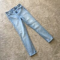 Abercrombie And Fitch Simone High Rise Super Skinny Light Wash Jeans