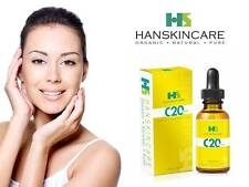 HanSkincare Pure Vitamin C 20% with HA, Organic Jojoba, Avocado, Argan oil