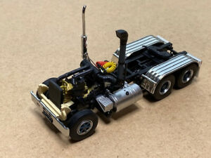 Tekno | 77158 Mack 6x4 chassis 1:50 Scale Code 3, Tekno Parts