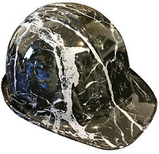 Hydro Dipped Hard Hat Sl Series Black Marble