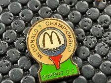 pins pin RONALD MC DONALD'S MC DO DUPONT GOLF