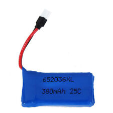 Upgraded 25C 3.7V 380MAH Lipo Battery for Hubsan X4 H107 Ladybird RC Quadcopter