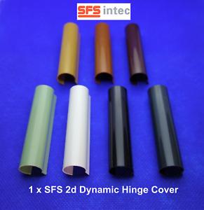1 x SFS INTEC 2d DYNAMIC Centre Hinge Covers for uPVC Doors, *MULTIBUY DISCOUNT*