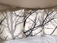 """Set of 3 Gorgeous Winter Trees 16"""" x 16"""" Cushion Covers"""