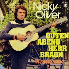 """7"""" NICKY OLIVER Guten Abend Herr Braun NICKERBOCKER WOLFGANG AMBROS REPRISE 1972"""