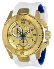 Technomarine TM-616004 Men's UF6 Collection Gold with White Strap Swiss Watch