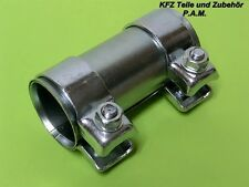 Auspuffschelle 50-54,5 x 90 mm Rohrverbinder Opel Doppelschelle Renault
