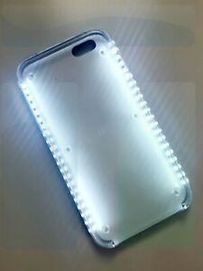 Luxury LED Light Up Your Face Cell Phone Case