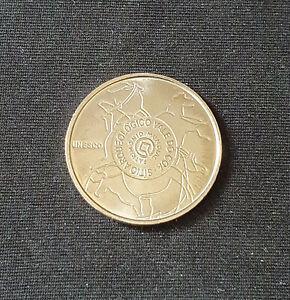 pièce de 2,5 euros Portugal 2010 - neuve - UNESCO- Site Archéologique
