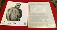 LL COOL J RARE 1997 ORIGINAL Phenomenon Def Jam PRESS KIT PHOTO RAP HIP HOP L.L.
