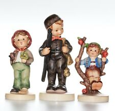 Hummel 3 x Figurines, ramoneur, apple tree Boy, perdu Stocking, tous endommagé