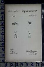 1871 KEHL INDIANAPOLIS INDIANA PEG WOOD SHARPENER WATCH PATENT LITHO 117081