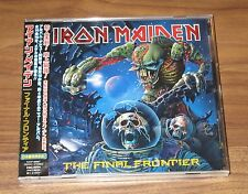 IRON MAIDEN Japan PROMO CD Final Frontier SEALED with obi OTHERS available!