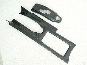 Carbon Centre Console Switch 2 Piece Centerconsole Fits Nissan GTR R35