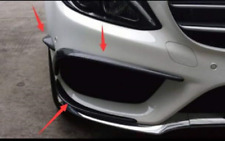 Carbon Splitter Stoßstange Lippe Spoiler Canards passt für Mercedes W205 AMG C43