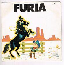 "disco LP 45 giri 7"" FLAVIO E LAURA Furia A Kansas city 1977 SIGNAL S683 custodia"