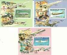 Timbres Avions Djibouti blocs spéciaux PA183/5 o lot 15517