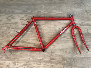 "Specialized Rockhopper 24"" Childrens Mountain Bike Frame Red Cr-Mo Steel 1986"