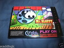 Super Nintendo SNES Game Mr Bloppy Saves the World New Pal Version