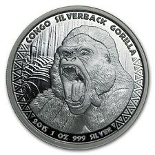 2015 Republic of Congo 1 oz Silver