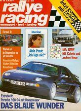 rallye racing 18 87 1987 @ Porsche 928 S4 @ Maserati 228 @ Porsche 911 Clubsport