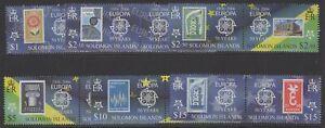 SOLOMON ISLANDS SG1125/36 2005 50th ANNIV OF EUROPA COFRANCE MNH